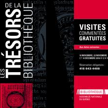 Exposition Les trésors de la Bibliothèque