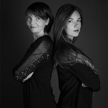 Héra Ménard et Sylvie Belzile