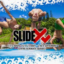 Slide X  - slip and fly
