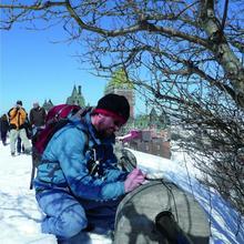 GéoRallye Vieux-Québec sous la neige charme et plaisir