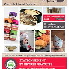 Salon des artisans de Québec et des métiers d'art