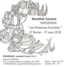 Exposition Dorothée Couture / Les Présences Invisibles