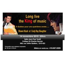 Weekend Elvis 13, 14 et 15 novembre 2015