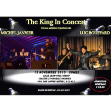 The King in concert