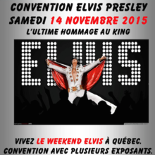 Convention Elvis Presley