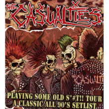 The Casualties - Annulé -