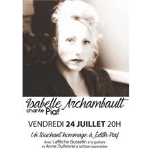 Isabelle Archambault chante Piaf