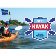 Défi kayak Desgagnés Montréal-Québec