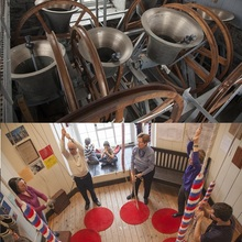 Bell ringing demonstration (in English)